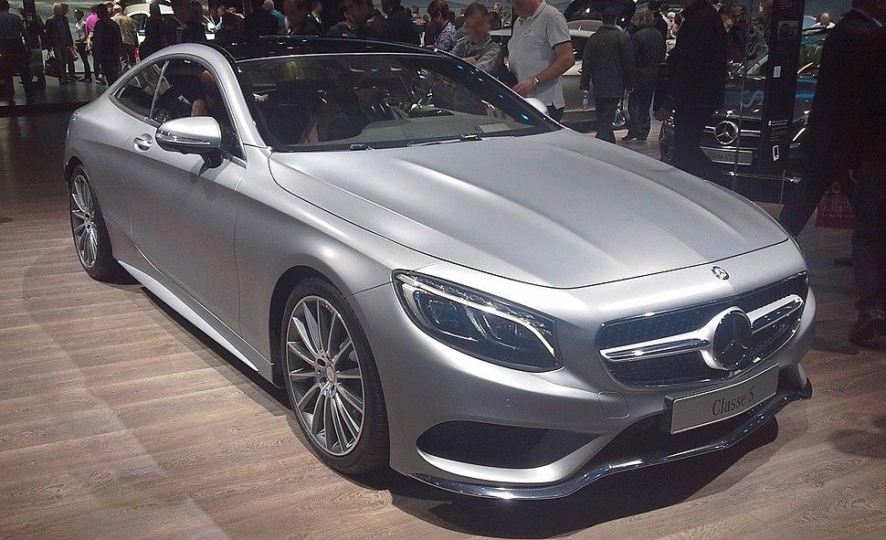 Mercedes S-Class Coup%C3%A9 C217 Mondial de l%27Automobile 2014-10-14
