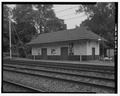 Merion Railroad Station, Freight House, Civic Circle, Merion Park, Montgomery County, PA HABS PA,46-MER,2C-1.tif