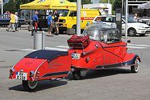 Messerschmitt KR 200, Bj. 1955, (2015-07-04 D r) Heck.JPG