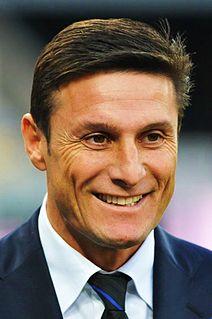 Javier Zanetti Argentine footballer