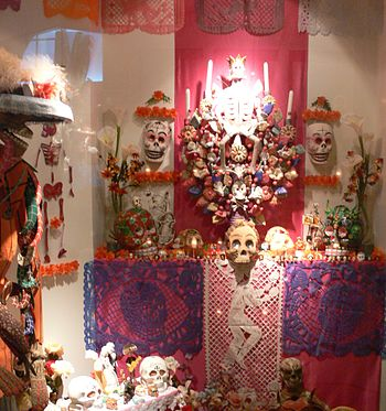 Tropenmuseum Amsterdam Mexican death folklore ...