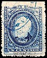Mexico 1882 documents revenue F90A Veracruz.jpg