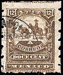 Mexico 1897-1898 12c perf 12x6 Sc273b.jpg