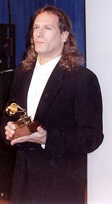 Michael Bolton at the 1990 Grammy Awards