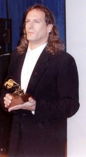 Michael Bolton - Bolton at the 1990 Grammy Awards