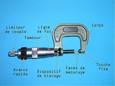 Micromètre Appareil De Mesure Wikipédia