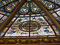Middle Street Synagogue, Brighton (May 2013) - Stained Glass in Dome (2).jpg