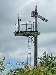Midland Railway Junction signal (6094226516).jpg