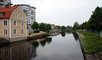 Karlshamn - Mieån river