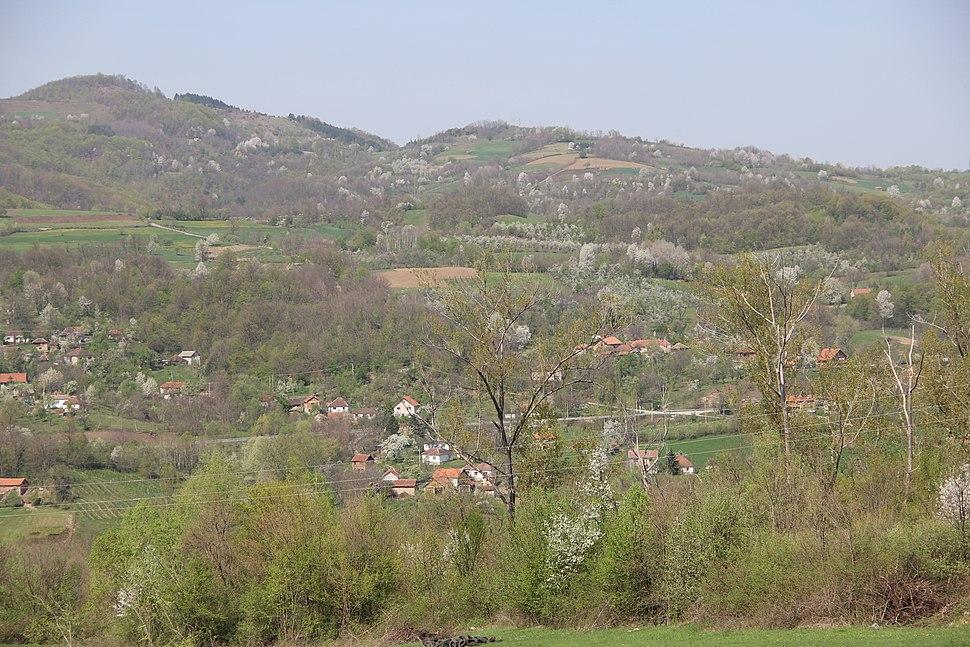 Mijači - opština Valjevo - zapadna Srbija - panorama 1