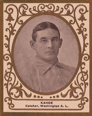Mike Kahoe - Mike Kahoe 1909 baseball card