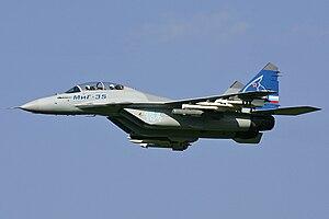Mikoyan-Gurevich MiG-35 MAKS'2007 Pichugin.jpg
