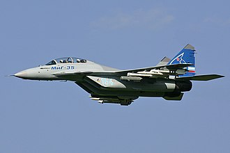 United Aircraft Corporation - The Mikoyan MiG-35 is the first aircraft and first military aircraft to be developed under the UAC brand, since Mikoyan is a branch of the corporation.