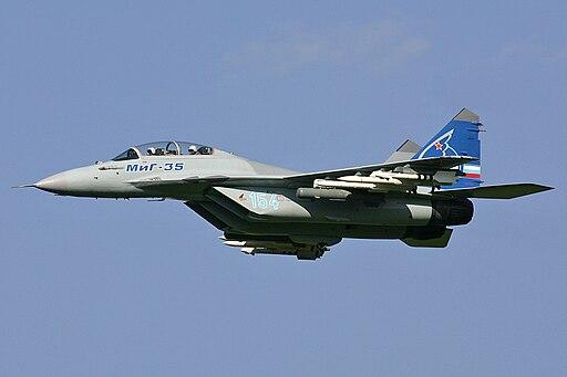 Mikoyan-Gurevich MiG-35 MAKS'2007 Pichugin