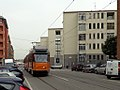 Milano via del Turchino tram 4999.JPG