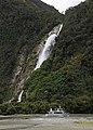 Milford Sound Waterfall 6 (31595877906).jpg