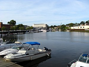 Byram River - The harbor