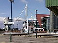 Millennium Stadium from platform 6 Cardiff Central - geograph.org.uk - 976577.jpg