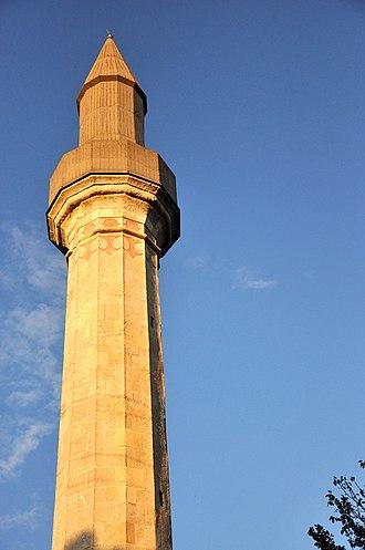 Érd - Ottoman minaret in Érd