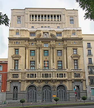 Ministry of Education (Spain) - Headquarters of the Ministry of Education