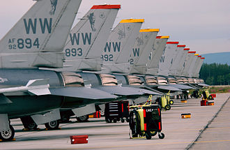 Misawa Air Base - Misawa F-16s