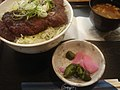 Miso katsu, tsukemono and miso soup by shibainu in Nagoya.jpg