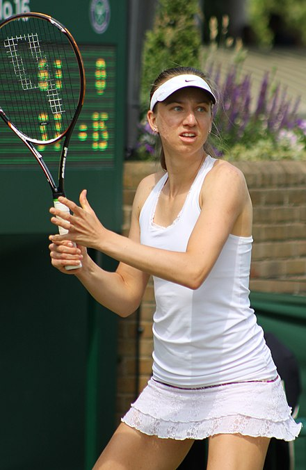 Barthel at the 2013 Wimbledon Championships Mona Barthel Wimbledon 2013.jpg