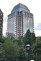 Monarch Place as seen from Steiger Park during day, Springfield, Massachusetts.jpg