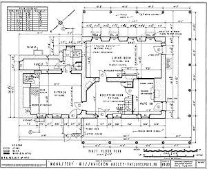 The Monastery (Philadelphia, Pennsylvania) - Image: Monastery floor plan