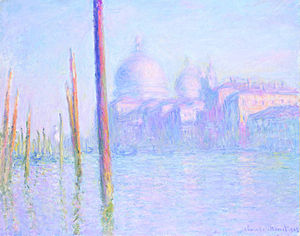 Legion of Honor (museum) - The Grand Canal, Venice, 1908 by Claude Monet.