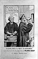 Monks shaving with Pears' shaving soap as endorsed by Sir Er Wellcome L0026156.jpg