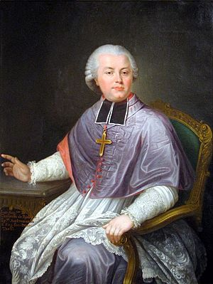 Jean Auguste de Chastenet de Puységur - Mons. Chastenet de Puységur, Bishop of Bourges, 1780 (Musée du Pays Rabastinois, Rabastens, Tarn)