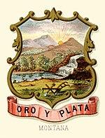Монтана территории, герб (иллюстрировано, 1876) .jpg
