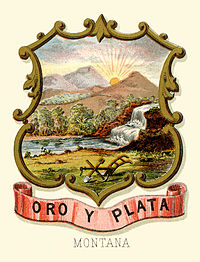 Montana territory coat of arms