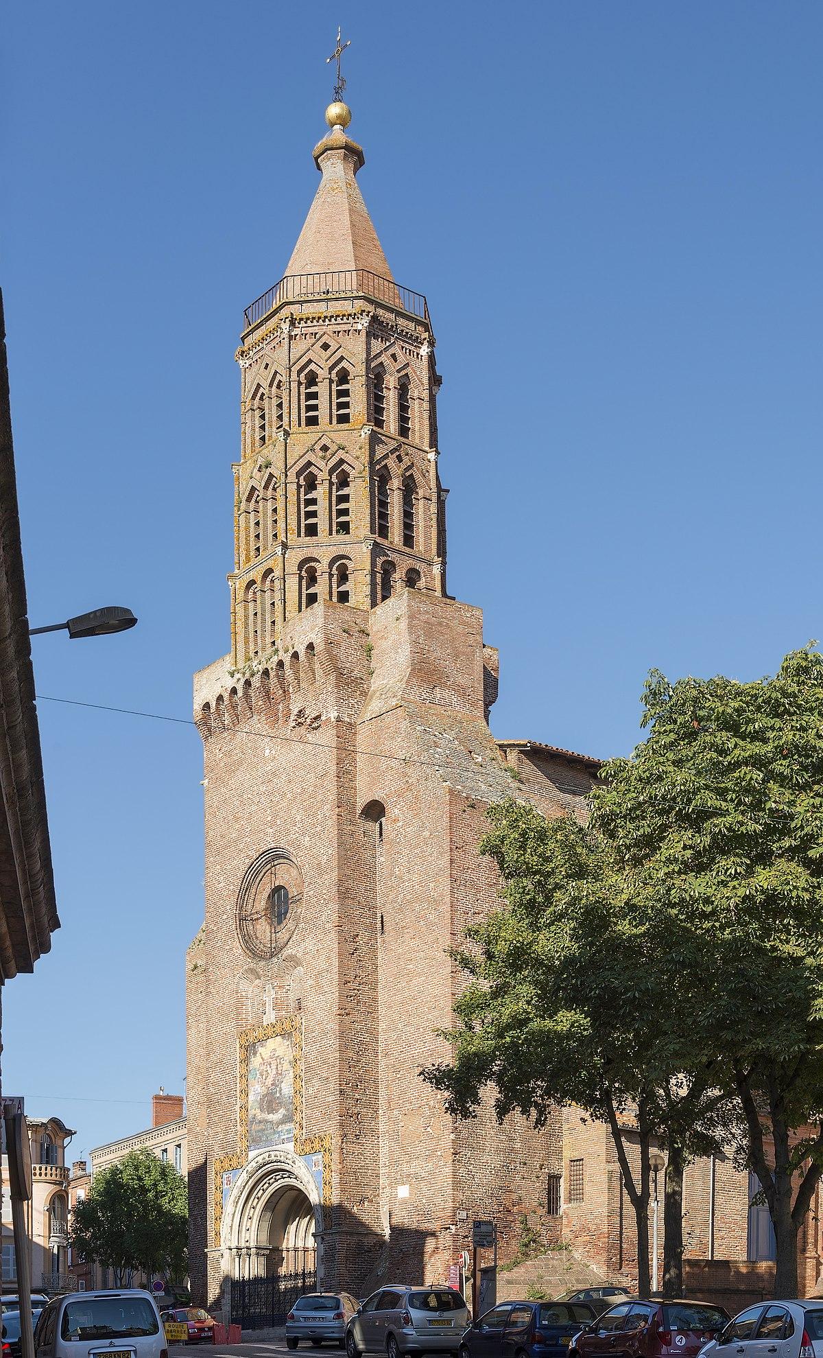 Glise saint jacques de montauban wikip dia for Piscine de montauban