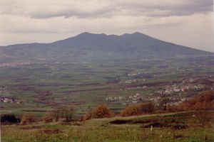 Vulture (region) - Image: Monte vulture 1 in basilicata