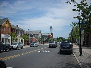 Montoursville, Pennsylvania - Broad Street in Montoursville