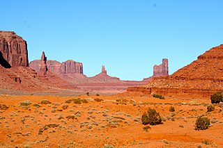 Navajo Nation American Indian territory in the Southwestern United States