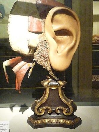 Anna Morandi Manzolini - Image: Morandi ear