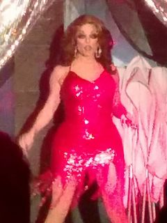 Morgan McMichaels Scottish-American drag performer and television personality