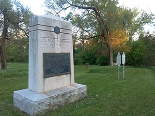 Morgan Morgan Monument United States historic place