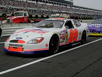 Morgan Shepherd - Shepherd at Pocono in 2003.