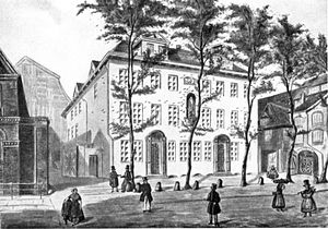 Berenberg Bank - Mortzenhaus, the company's seat from 1788