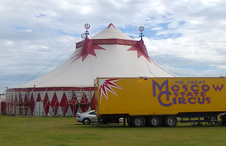 Moscow State Circus - Moscow State Circus big top, UK, 2012