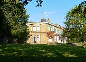 Moulsecoomb Place - The southern extension has a bow-fronted section.