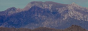 Mount Jukes (Tasmania) - Image: Mount Jukes from West