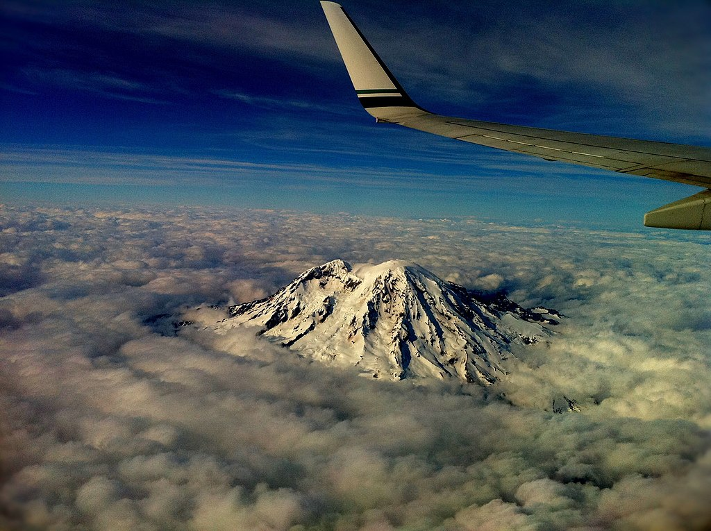 Aviation Charts For Google Earth: Mount Rainer US-WA from plane.jpg - Wikimedia Commons,Chart