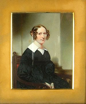 Alexander Macomb (merchant) -  Macomb's granddaughter, Catherine Navarre Macomb, who married Oswald John Cammann, by Thomas Seir Cummings (ca. 1843)