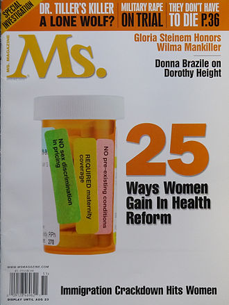 Healthcare reform in the United States - The spring 2010 healthcare reform issue of Ms. magazine