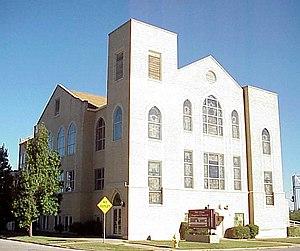 Mount Zion Baptist Church (Tulsa) - Mount Zion Baptist Church in 2007